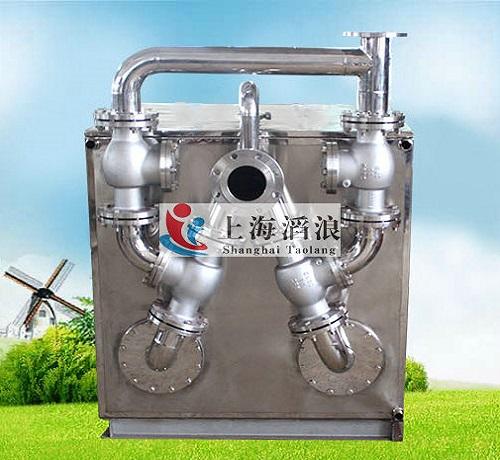 智能污水提升器,家用污水提升器,PP塑料提升器,卫生间污水提升设备,不锈钢内外置式反冲洗污水提升装置-上海滔浪泵阀科技有限公司